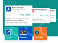 [Mobile App] FS - Freelance job seeking interface ui ux design application mobile interactive design user ux user interface ui