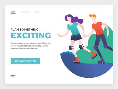 Matchmaker - Get together user graphics website