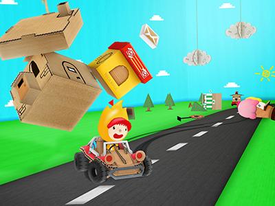 Toca Cars cardboard car cars toca boca paper