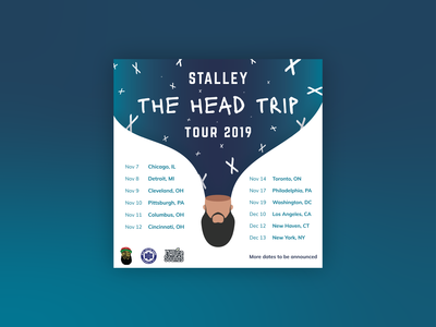 The Head Trip Tour flyer