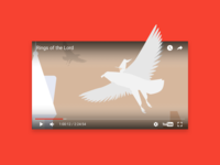 Youtube Video Player UI, 08.2017