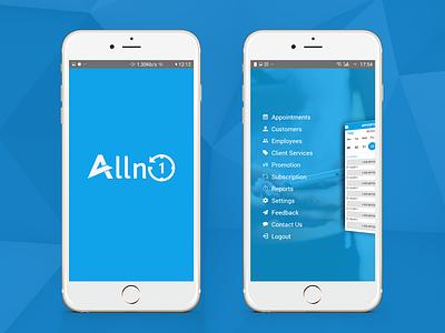 Lifestyle App - Alln1 ux website mobile app design web app ui  ux ui design logo ui  ux design