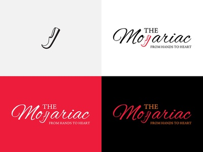 THE MOJARIAC   Logo Design logo 2d logo design concept logo concept logo design design app shoe ui ux ui  ux design branding logo ui  ux