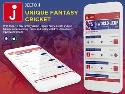 JEETO11 cricketapp cricket fantasyapp sports betting fantasy fantasy sports