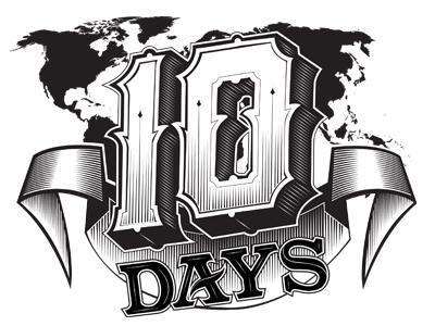 Ten days dribbble