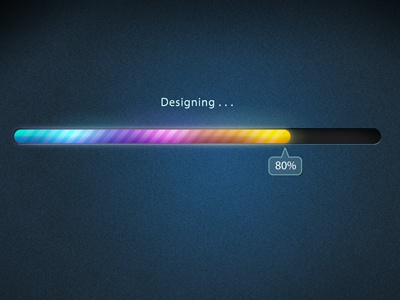 Design Progress Bar progress bar sleek mac ui photoshop