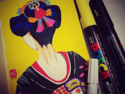 Study: Flatcolor