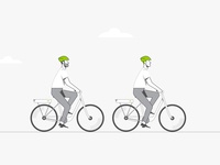Bicycle motion