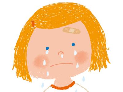 CryCry illustration photoshop girl cry child