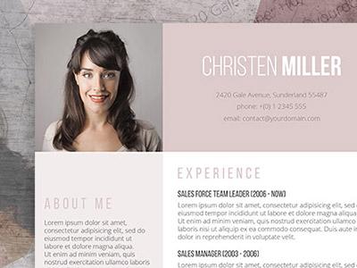 Free Creative Resume Template - Freesumes
