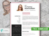 The Feminine Resume Template