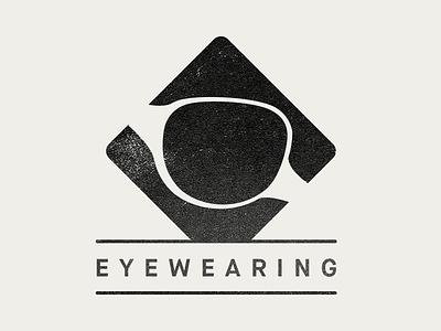 Eyewearing logo eye eyewear sunglasses glasses logo eyes black