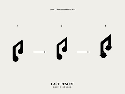 Last Resort - Sound Studio sound studio recording studio sound music note headphones spikes