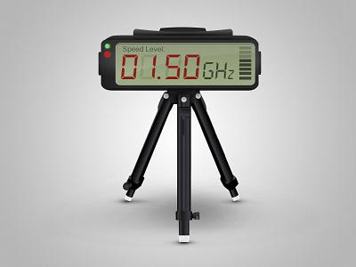 Speed Radar radar police digital digi speed numbers diginumbers