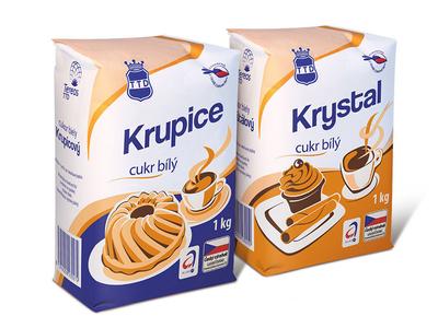 Tereos TTD sugar - packaging design illustration vector granulated cake baking coffee tea beetroot cane sweetener sweet sugar
