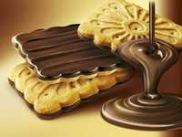 Biscuit retouching for packaging design