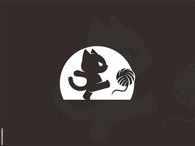 Angry Cat character mascot characterdesign illustration animal design logomark logodesign logo cat grumpy angry