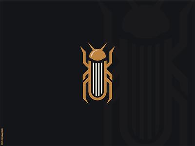 Bug Publisher icon animal design logomark logodesign logo publisher book bug