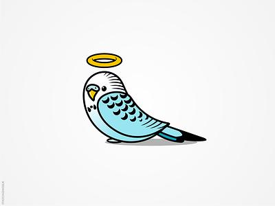 Parakeet pet parrot parakeet bird illustration