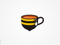 Honey Lemon Tea Logo