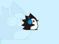 Spiky Penguin