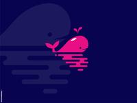 Playful Whale Logo