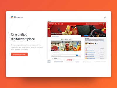 Universe - Your unified digital workplace