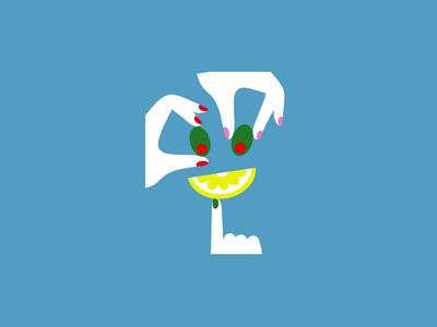 Big Mama Lemon & Olive olive illustration design pizza motion design loader loading gif