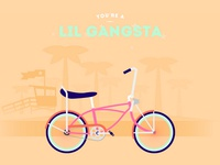 Lil Gangsta Bike Cyclemon
