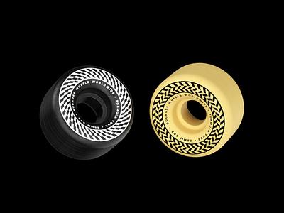 Kinetic - Skate Wheels octane truck skate deck branding graphic design skateboard sk8 skate wheel c4d 3d orthonormai