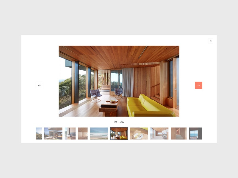 Onefinestay - Gallery design flat minimal branding gallery home house city