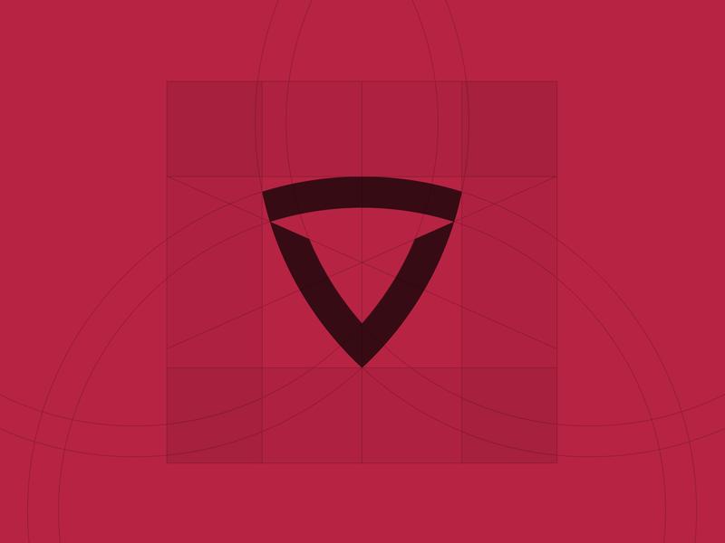 ITORO identity id mark negative-space construction design graphic concept branding logotype logo