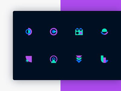 Cosmico | Icon set website webdesign landing star cosmic web design ui coloful design logo visual identity branding brand design icon