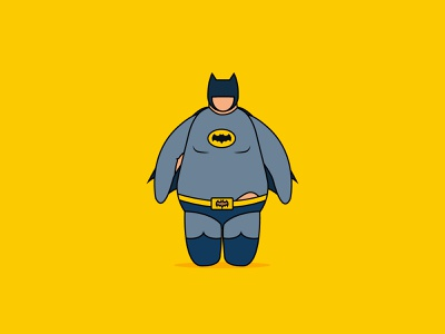 Fat Heroes illustrator fat flat illustration vector design character superheroes colors quarantine lockdown heroes character design illustration