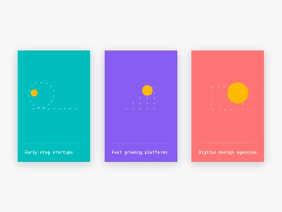 Frankhood | Micro illustrations geometric color brand design design web design website ui coloful illustration icon visual identity branding