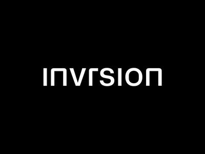 Invrsion | Logo logo animation animation n ux ui website ui motion modern logo brand identity brand design branding virtual reality vr mark logo typography logotype wordmark