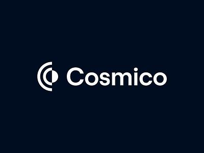 Cosmico | Logo Animation icon ui ux logo vector illustration branding brand design visual identity logo design logo animation motion