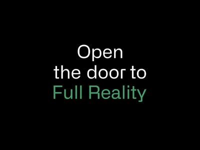 Invrsion | Open the door to Full Reality logo animation animation website logo virtual reality vr typography ux ui design visual identity brand design branding