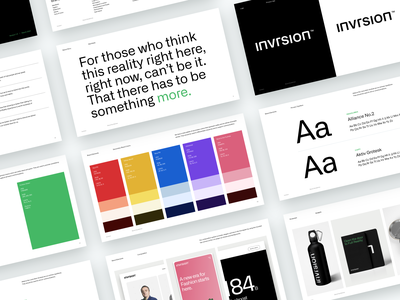Invrsion | Brand Guidelines visual design website web ux logo typography colors brand identity brand guidelines design brand design branding visual identity guidelines asset