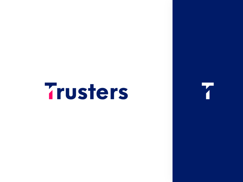Trusters Logo web design website ux design icon logotype logo visual identity brand design uiux real estate crowdfunding branding