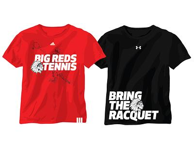 Big Reds Tennis Tshirt Concepts tshirts