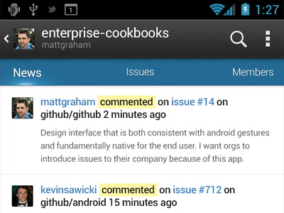 Thinking mobile mobile github android