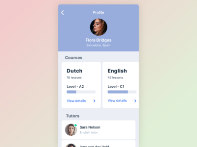 Daily UI User Profile