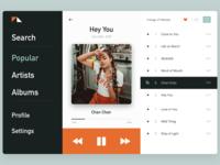 Daily UI Music Player