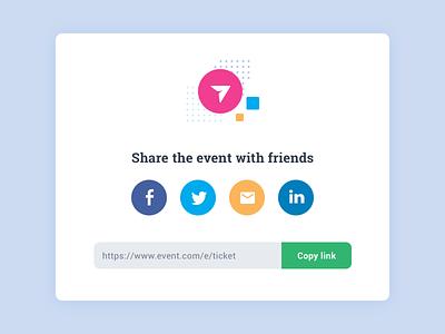 Daily UI Social Share share social dailyui daily ui