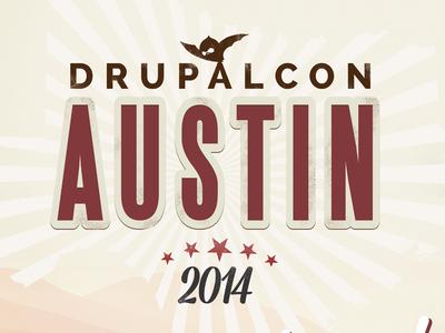 DrupalCon Austin Logo Design branding logo design iconography graphic design