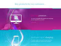 Product Parallax Showcase Panel