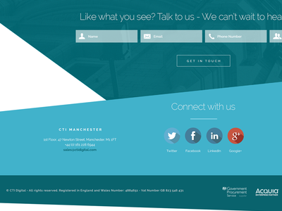 Who says footers should be boring? web design creative design graphic design