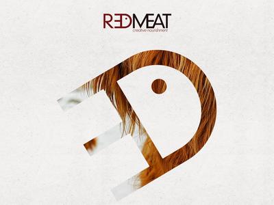 RedMeat Creative Header design branding graphic design masks texture minimal