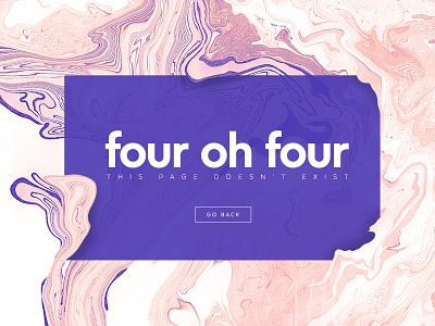Four Oh Four website 404